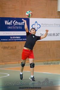 Grifo Volley Perugia U17M - Istituto Leonardi Perugia U17M | 8ª giornata - Campionato provinciale Perugia Prima Divisione Maschile, girone B (id: 2014.01.09._MBE1087)