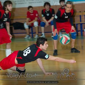 Grifo Volley Perugia U17M - Istituto Leonardi Perugia U17M | 8ª giornata - Campionato provinciale Perugia Prima Divisione Maschile, girone B (id: 2014.01.09._MBE1077)
