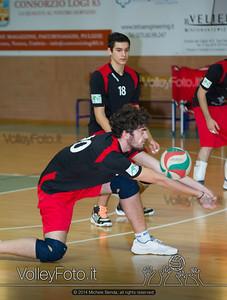 Grifo Volley Perugia U17M - Istituto Leonardi Perugia U17M | 8ª giornata - Campionato provinciale Perugia Prima Divisione Maschile, girone B (id: 2014.01.09._MBE1076)
