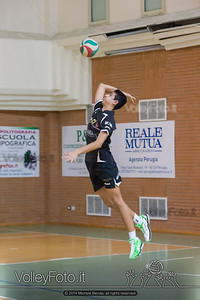 Grifo Volley Perugia U17M - Istituto Leonardi Perugia U17M | 8ª giornata - Campionato provinciale Perugia Prima Divisione Maschile, girone B (id: 2014.01.09._MBE1084)