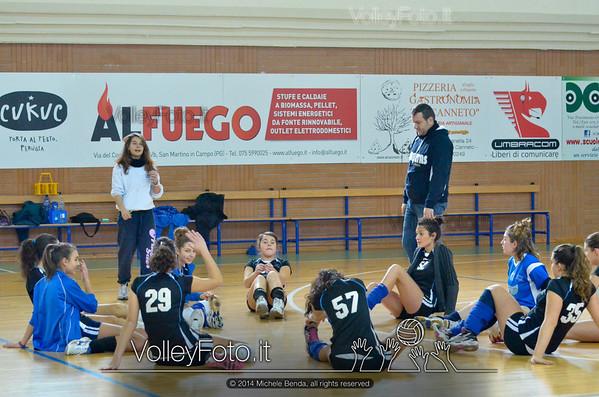 Grifo Volley Perugia - Libertas Perugia Jupiter | 8ª giornata - Campionato provinciale Perugia Seconda Divisione Femminile, girone C (id: 2014.01.12.MBY_1408)