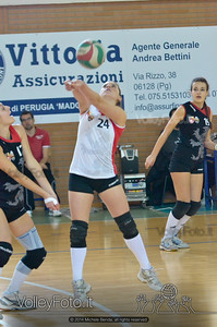 Grifo Volley Perugia - Libertas Perugia Jupiter | 8ª giornata - Campionato provinciale Perugia Seconda Divisione Femminile, girone C (id: 2014.01.12.MBY_1512)