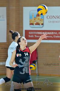 Grifo Volley Perugia - Libertas Perugia Jupiter | 8ª giornata - Campionato provinciale Perugia Seconda Divisione Femminile, girone C (id: 2014.01.12.MBY_1432)