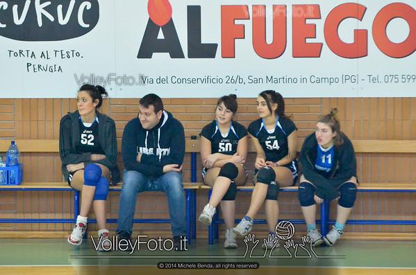 Grifo Volley Perugia - Libertas Perugia Jupiter | 8ª giornata - Campionato provinciale Perugia Seconda Divisione Femminile, girone C (id: 2014.01.12.MBY_1496)