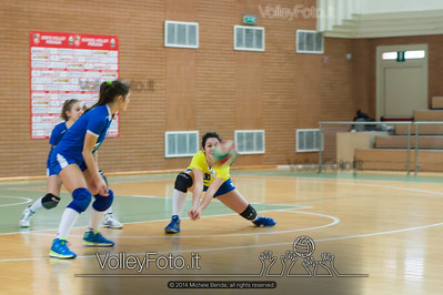 School Volley Perugia Green - San Giustino Volley Green | 9ª giornata - Campionato provinciale Perugia Pallavolo Prima Divisione Femminile girone A [2013/14] (id: 2014.01.12._MBE1299)