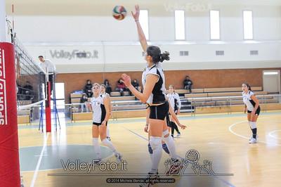 School Volley Perugia Green - San Giustino Volley Green | 9ª giornata - Campionato provinciale Perugia Pallavolo Prima Divisione Femminile girone A [2013/14] (id: 2014.01.12._MBE1328)