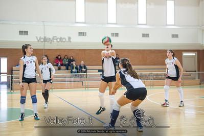 School Volley Perugia Green - San Giustino Volley Green | 9ª giornata - Campionato provinciale Perugia Pallavolo Prima Divisione Femminile girone A [2013/14] (id: 2014.01.12._MBE1302)