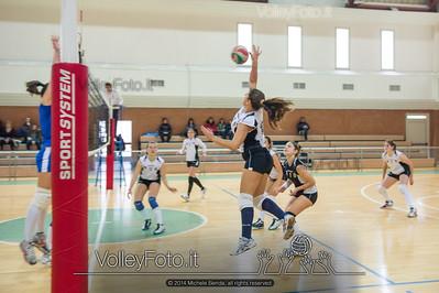School Volley Perugia Green - San Giustino Volley Green | 9ª giornata - Campionato provinciale Perugia Pallavolo Prima Divisione Femminile girone A [2013/14] (id: 2014.01.12._MBE1313)