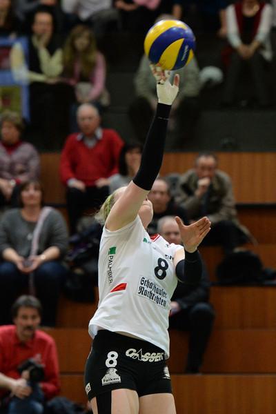 NLA 2013/2014, Finalrunde: Neuenburg UC - VC Kanti 3:0, 06.03.2014