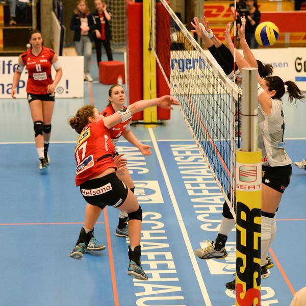 NLA 2013/2014, Finalrunde: VC Kanti - Neuenburg UC 3:0, 09.03.2014