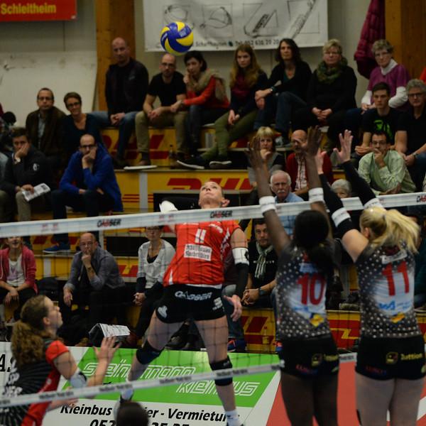 NLA 2014/2015: VC Kanti - Neuenburg UC 0:3 15.11.2014 © Reinhard Standke