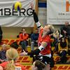 NLA 2014/2015: VC Kanti - Aesch-Pfeffingen 3:2, 30.11.2014 © Reinhard Standke