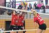 Volleyballturnier VC Kanti in Jestetten: USC Münster - VC Kanti 4:0, 19.09.2015 © Reinhard Standke