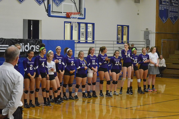 Holy Cross 3, Paul VI 0 in WCAC Volleyball Semifinals