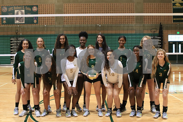 Volleyball 2018 Portraits