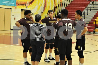NBHS BOYS VOLLEYBALL VS BLOOMFIELD 4-3-19