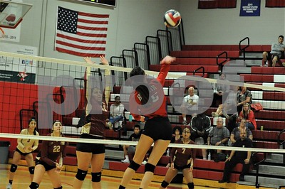 BHS VOLLEYBALL VS NEW BRITAIN 9-27-19