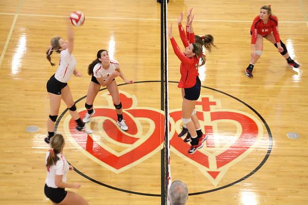 Volleyball ASH vs St. Martin (9.21.17)