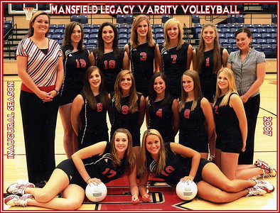 Main Gallery - Legacy Varsity Volleyball  2007