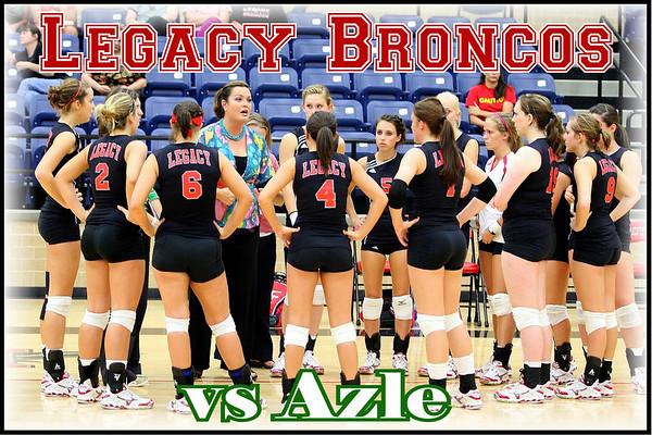 2008 Legacy vs Azle