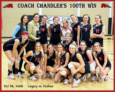 2008 Legacy vs Joshua - Match #2 - Senior Night