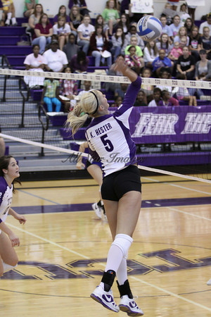 TCU vs Air Force VB - 2010