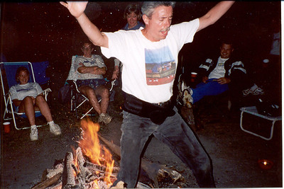 2001-8-11 03 Firewalker Hollywood-Camp Out Night