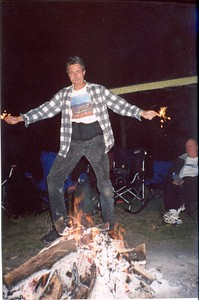 2001-8-12 09 Firewalker Hollywood-Camp Out Night