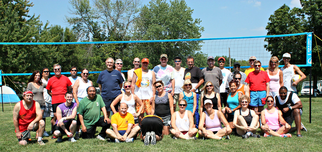 20140809  Volleyball Campout- Hide-A-Way Lakes Campground