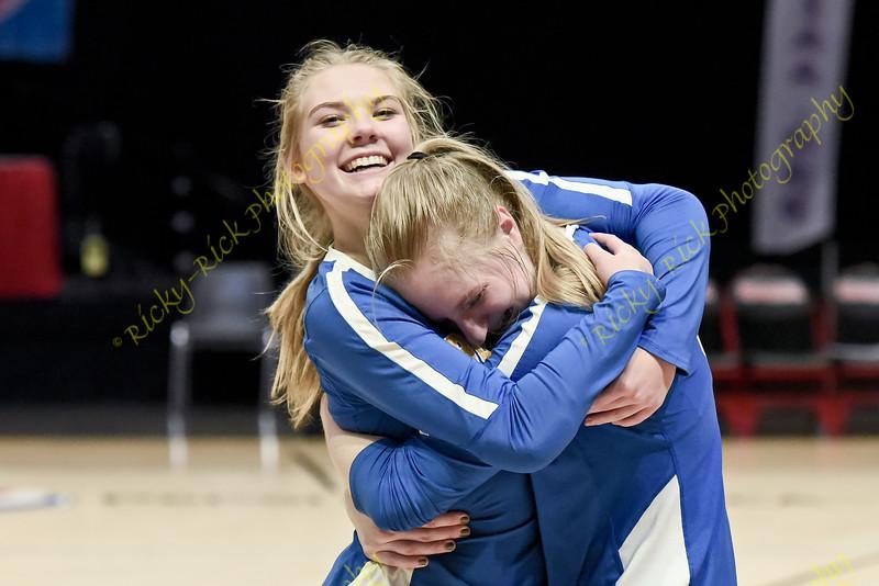 11/09/19 - Girls Volleyball - Class 3 State Championshp match - Borgia vs Logan-Rogersville