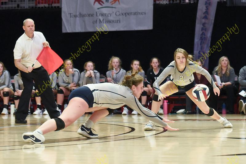11/09/19 - Girls Volleyball - Class 4 3rd place - Liberty - FHC