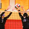 09/29/20 - Girls Volleyball - Eureka at Incarnate Word