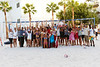 Participants in the 2013 NVL Best of the Beach