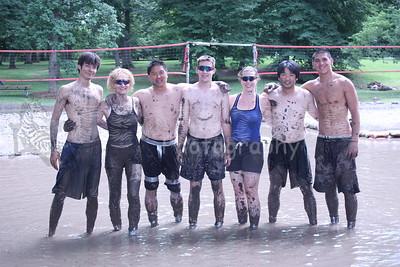 Mud Volleyball