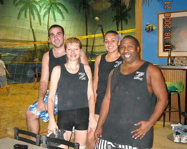 2008 TUESDAY NIGHT SHORT WINTER SESSION CO-ED 6'S RECREATIONAL LEAGUE NORTH BEACH CLUB