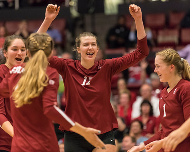Women's Pac-12 Volleyball: California Golden Bears at Stanford Cardinal