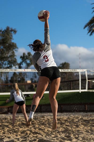 Women's Beach Volleyball: 2018 Stanford Bay Area Kickoff