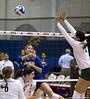 Volleyball vs Oregon; 1st round of NCAA playoffs