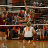 La Porte Volleyball vs Deer Park 9-15-09
