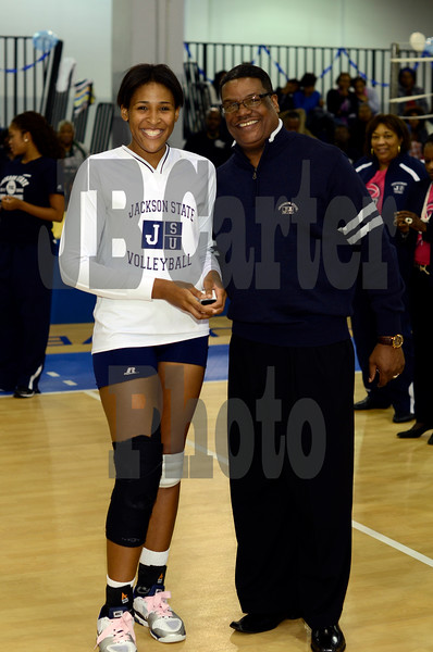 JSU Women's Volleyball Ring Ceremony 10/19/2012