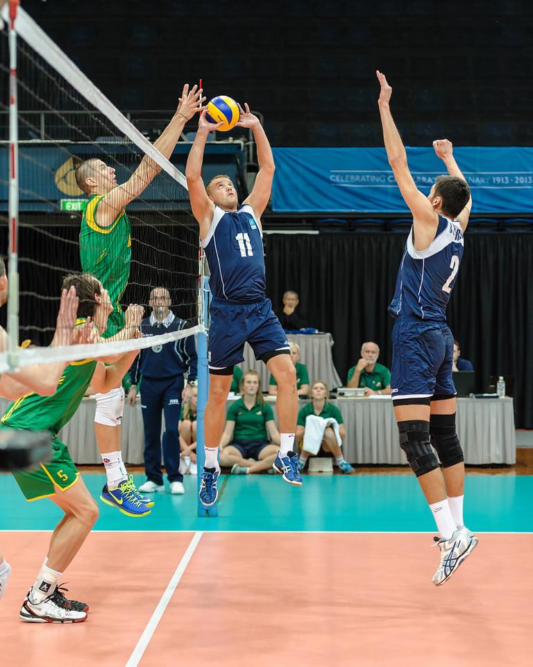 Vitaliy Mironenko (Kazakhstan) & Adam White (Australia)