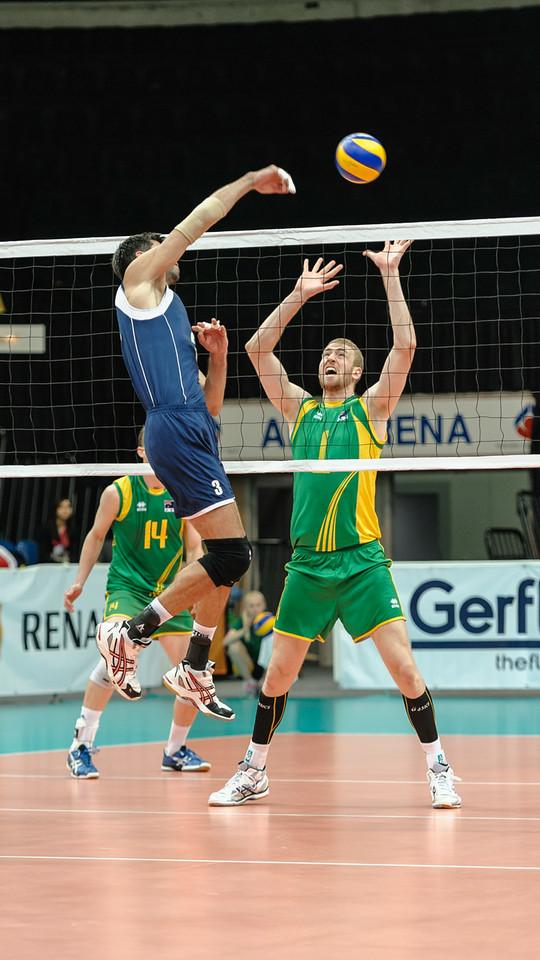 Anton Yudin (Kazakhstan) & Aidan Zingel (Australia)