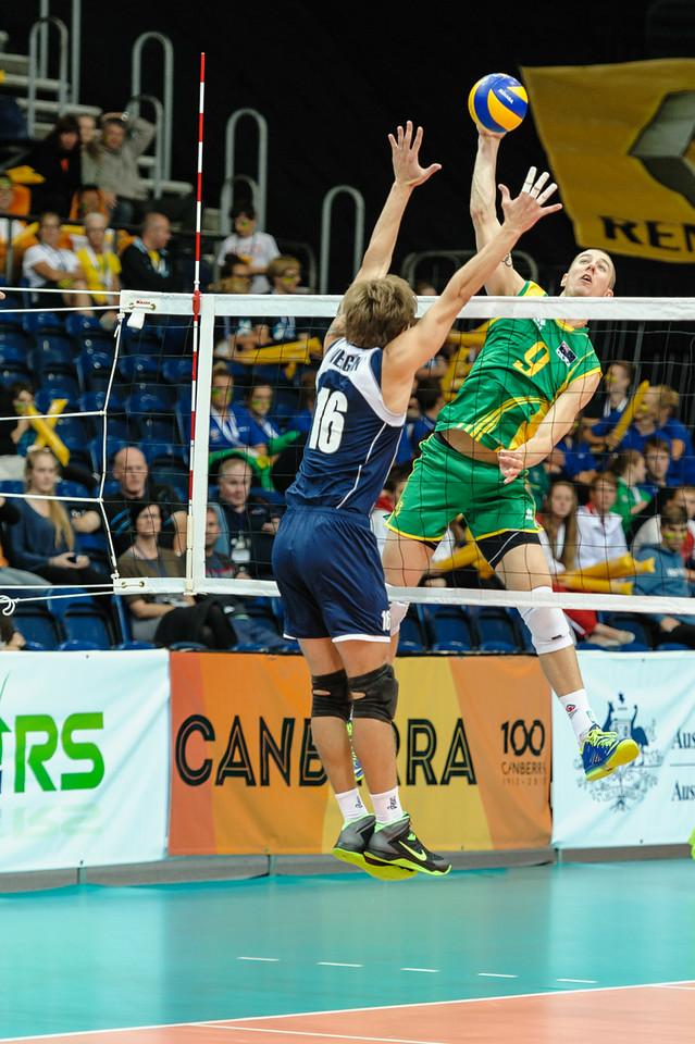 Adam White (Australia) & Oleg Verigin (Kazakhstan)