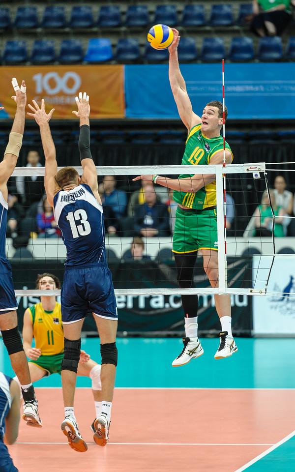 Thomas Edgar (Australia) & Vitaliy Erdshtein (Kazakhstan)