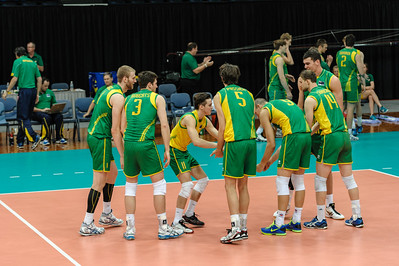 Australian team introductions