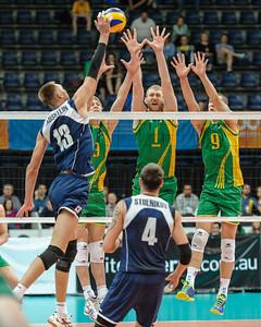 Vitaliy Erdshtein (Kazakhstan) & Sam Walker, Aidan Zingel, Adam White (Australia)