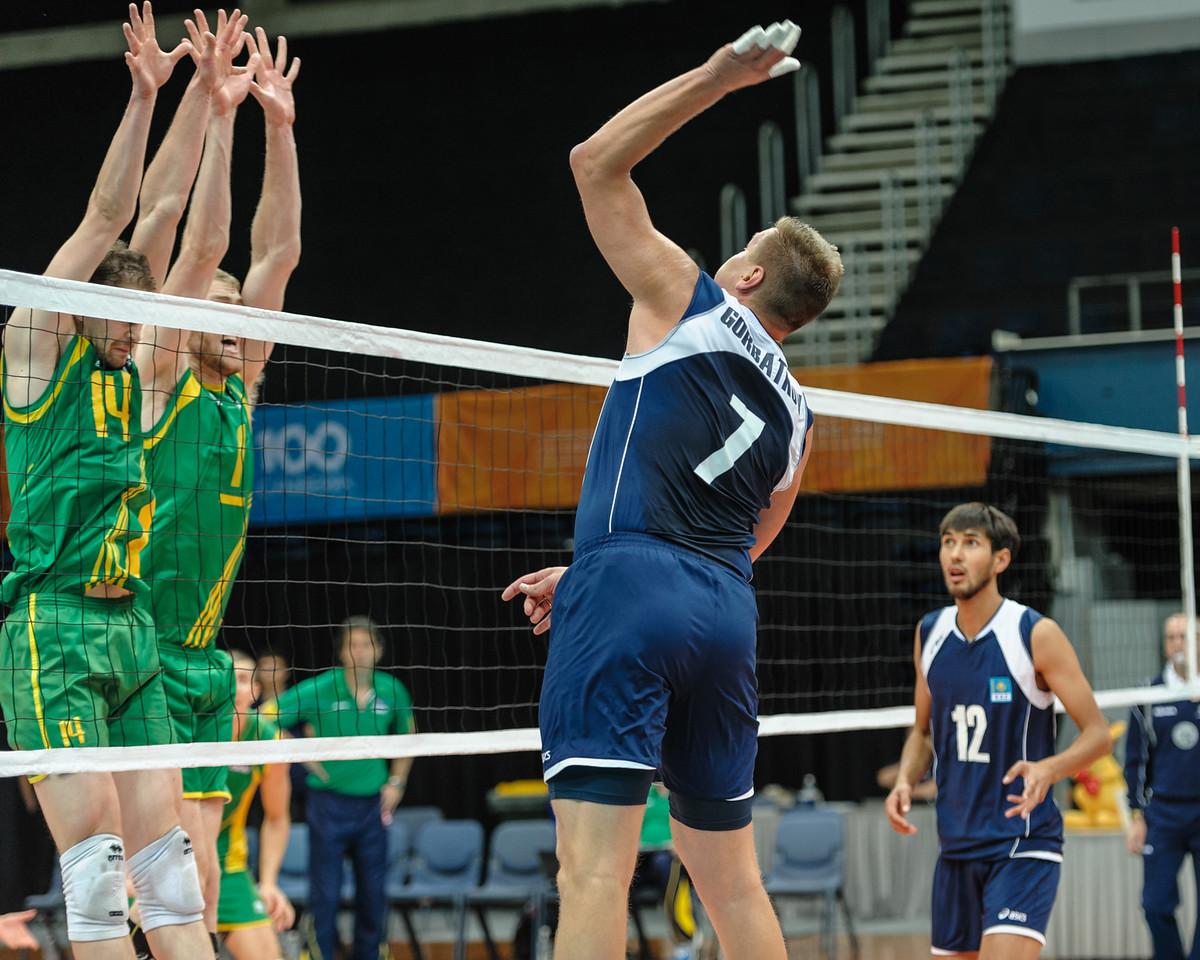 Dmitriy Gorbatkov (Kazakhstan) & Greg Sukochev, Aidan Zingel (Australia)