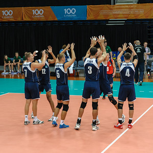 Kazakhstan team introductions