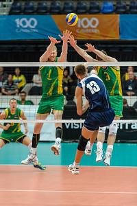 Vitaliy Erdshtein (Kazakhstan) & Aidan Zingel, Nathan Roberts (Australia)