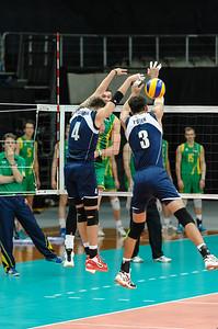 Alexandr Stolnikov, Anton Yudin (Kazakhstan) & Thomas Edgar (Australia)